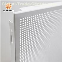 Decorative aluminum waterproof ceiling tile perforated metal sheet for Commercial Building