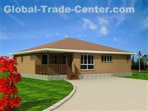 Prefab villa  Energy conservation, Environmental protection and Easy assembled Villa