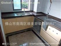 Foshan Weimeisi  Customized Kitchen Use Black Marble Table Top for sale