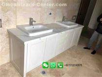Hot Sale Marble Bathroom Washstand Washbasin Cabinet For Home or Hotel
