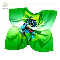 In Stock Own Design Artis Design Print Custom Printed Scarf Silk Scarf 90x90 Customs Data