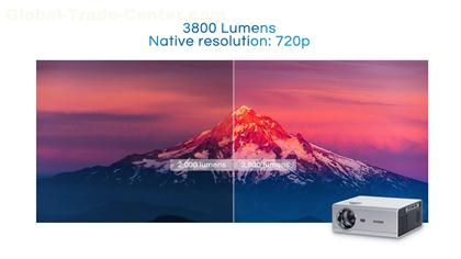 PRO-LIVE T400 | 3800 LUMENS HD POWERPOINT PRESENTATION PROJECTOR WITH MULTIPLE PORTS-2020