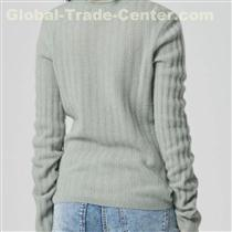 Cashmere Ribbed Sweater Mist