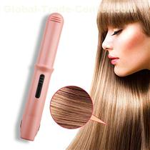 New Portable Household Frizz Hair Straightener Ceramic Curler Tools Flat Iron Hair Straightening Clip Brush Plancha Para Cabello