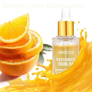 Organic Natural Vitamin C Face Serum Whitening Moisturizing Anti Aging Plant Extract Facial Care Essence VC Skincare Serum