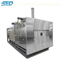 Double Sided Single Person Vacuum Freeze Dryer For Grain Industrial