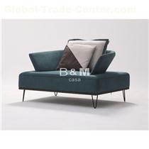 Armrest Fabric Sofa  eco-friendly fabric Sofa   Modern minimalist Fabric Sofa  OEM Modern Fabric Sofa manufacturer