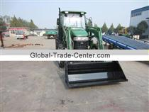 tractor with front end loader and backhoe made in china